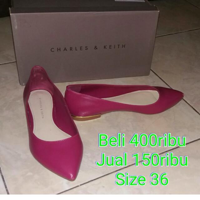 Sepatu Charles And Keith Original Preloved