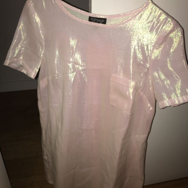 Shimmer Top shop Dress