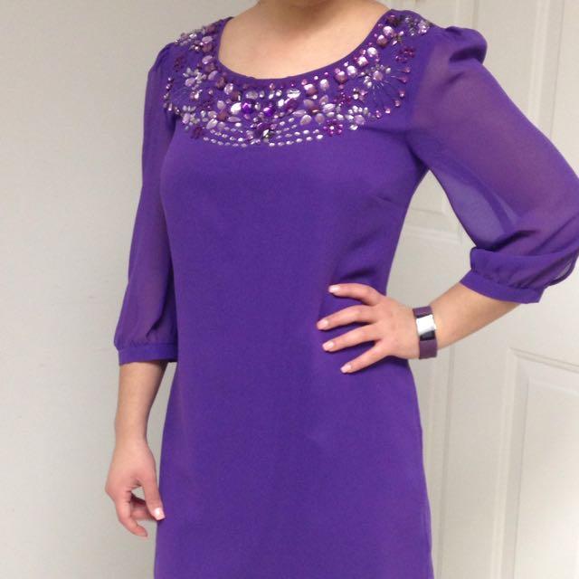 Simple Casual Formal Dress