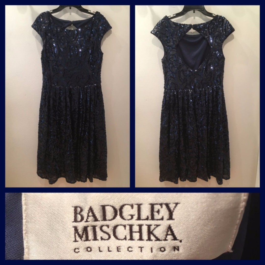 Size 10 - Badgley Mischka Collection - Cocktail Dress