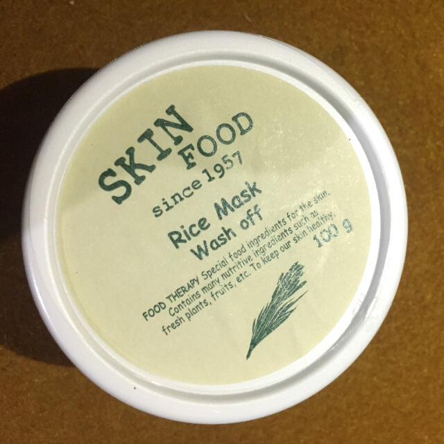 Skinfood - Rice Mask Wash Off