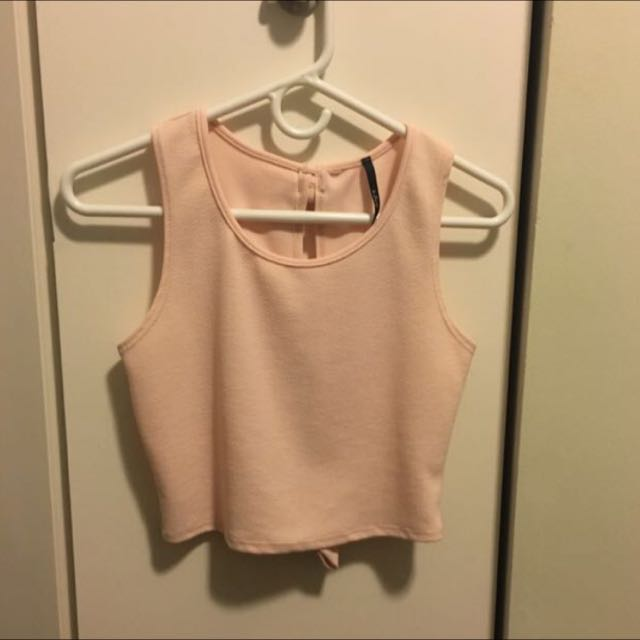Small Women's Pink Bow Blouse