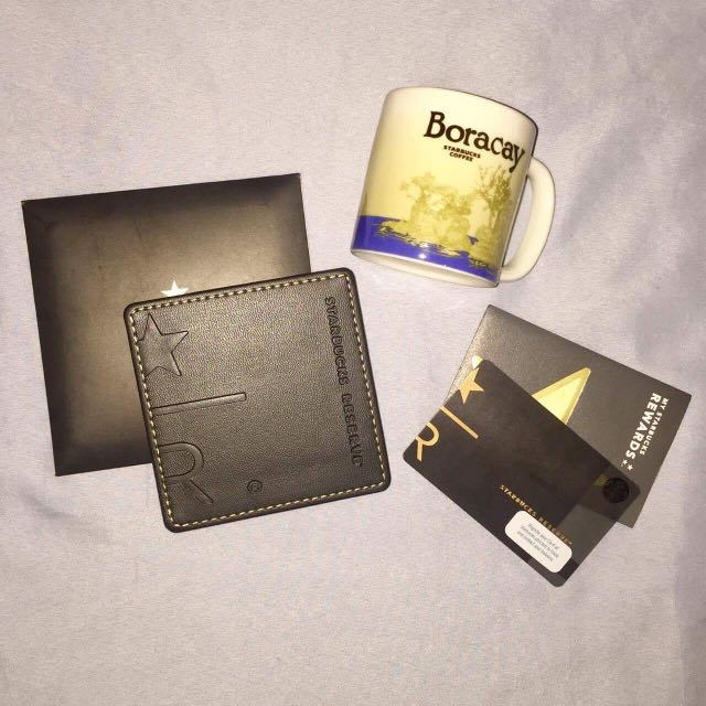 Starbucks Cards and Mug