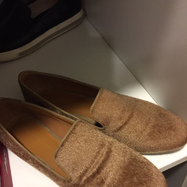 Suede Shoes Charles & Keith