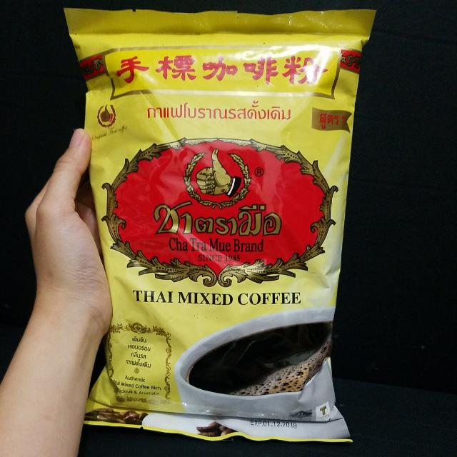 Thai Mixed Coffee 1000gr Number One Brand Cha Tra Mue 1kg Kopi Mix Thailand, Food & Drinks, Non-Alcoholic Beverages on Carousell