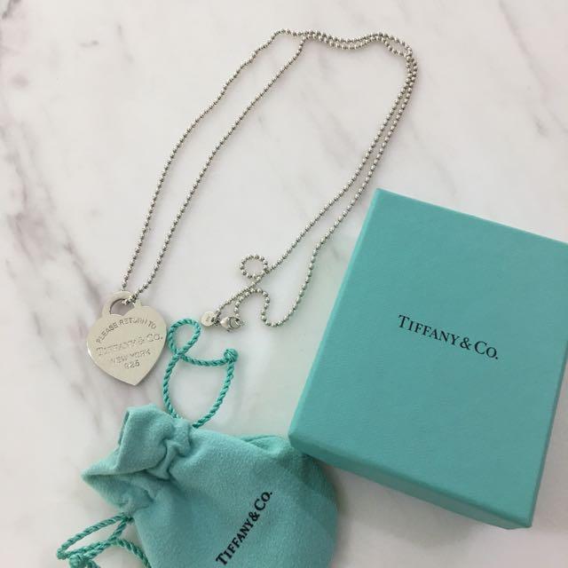 Tiffany & Co Heart Tag Pendant