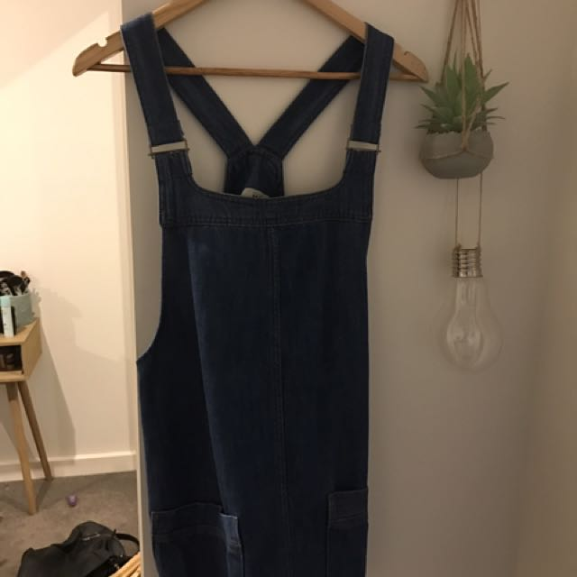 TOP SHOP OVERALL DRESS