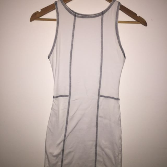 White Kookai Dress Size 6