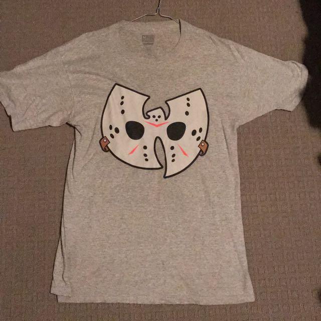Wu Tang Brand Limited Grey Mask T Shirt