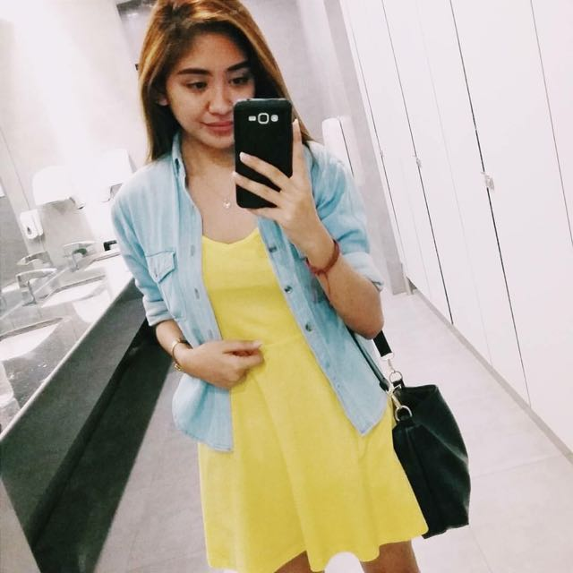 Yellow Sunny Dress