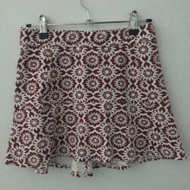 Zara Patterned Skirt