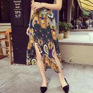 Terno Sleeveless And Skirt