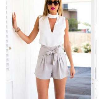 Terno: Blouse And Short