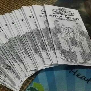 Customised Money Envelopes Sampul Duit Raya