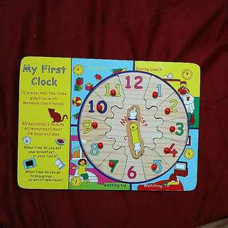 FOC Clock Puzzle with purchase