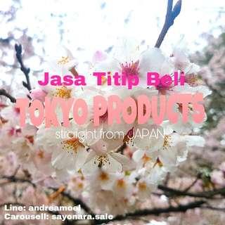 JASA TITIP BELI TOKYO PRODUCTS