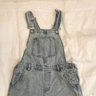 TOPSHOP OVERALL SHORTS