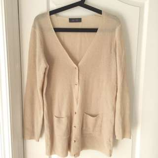 REDUCED Oak And Fort Peach Cardigan