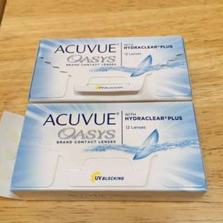 Acuvue Oasys Contact Lenses -2.75 Prescription