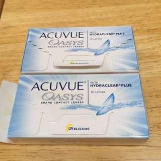 Acuvue Oasys Contact Lenses -2.75 Prescription