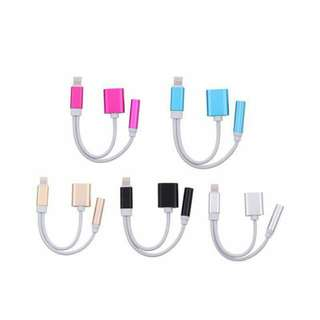 2 In 1 Iphone 7 Charger Cord