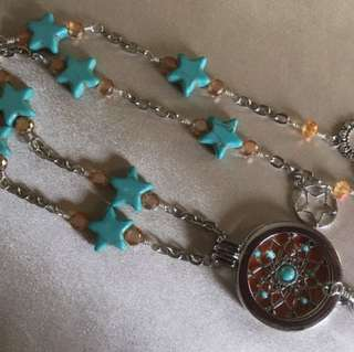Handcrafted Essential Oil Diffuser Pendant Necklace