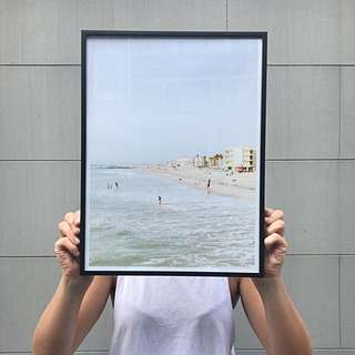 Beach Art Print - Modern Bedroom Art 30x40cm
