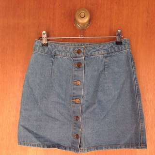 Jay Jays Denim Button-up Skirt