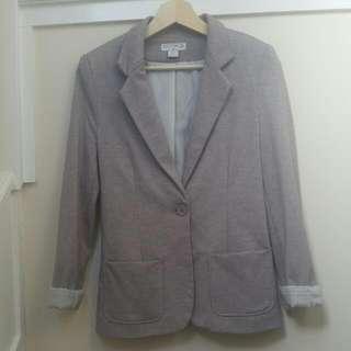 Cotton On Grey Marle Blazer