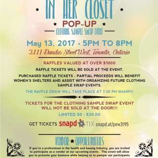 'In Her Closet' Clothing Sample Swap Event