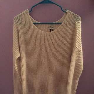 White Dynamite Knit Sweater