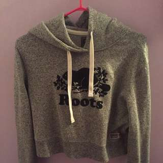 Roots Cropped Hoodie