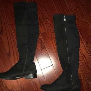 Aldo knee high boots (Chelania) Suede