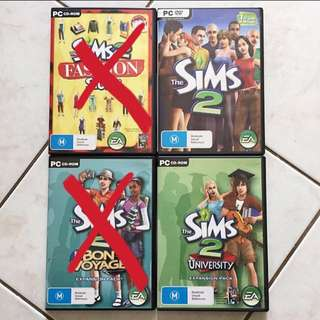 The Sims 2 And Expansion
