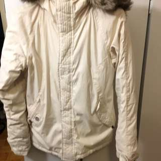 TNA PARKA WHITE SMALL