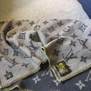 Louis Vuitton blanket