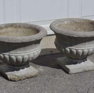 Cement Pots X 2 - Pick Up Don Mills