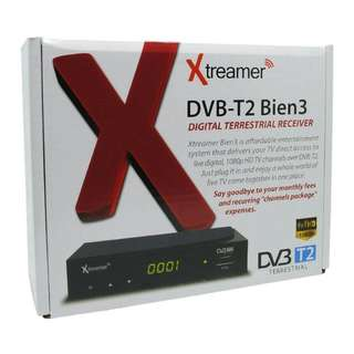 TV Digital Xtreamer BIEN 3 Set Top Box DVB-T2 and Media Player