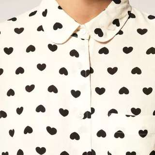 Heart Blouse Shirt