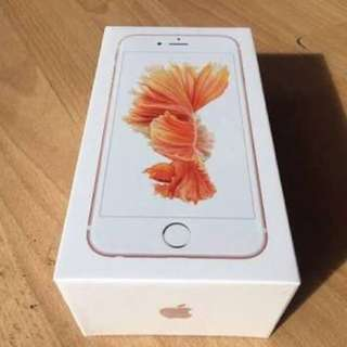 Iphone 6s Rosegold 32gb