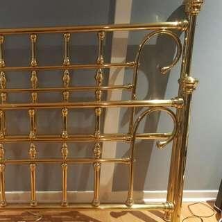 King Brass Bed frame