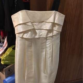 KUKU ivory and black dress, BNWT, size 12