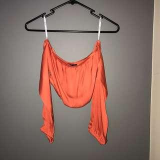 Bardot - Gypsy Crop Orange