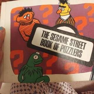 Original 1970 Sesame St Book