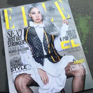 Elle Singapore, May 2016 : CL