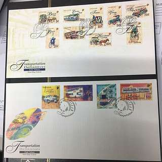 1997 Singapore Transportation Stamp FDC