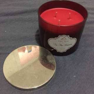 Bath And Body Works 3 Wick Candle 'Tis the Season