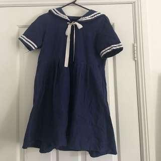 Anime Style Sailor Dress