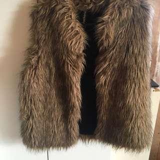 Furry coat/vest