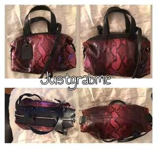 Reed Krakoff Phyton Mini Atlas Bag